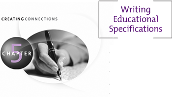 Chapter 5 Writing Educational Specifications